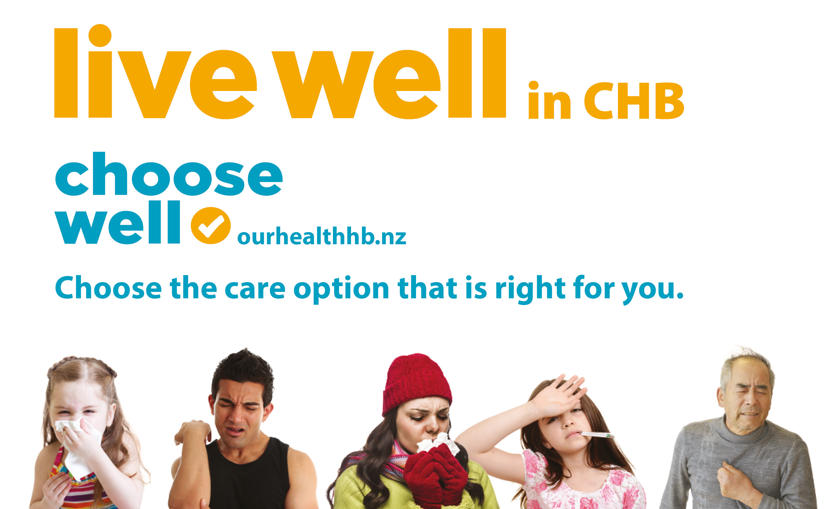 Live well in CHB carousel