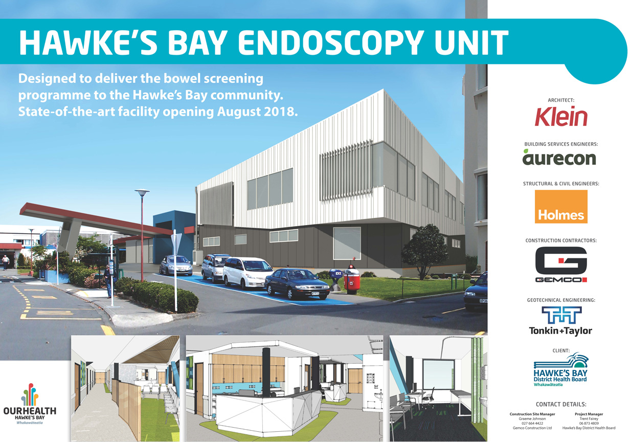 ruakopito new endoscopy and gastroenterology unit hawkes bay