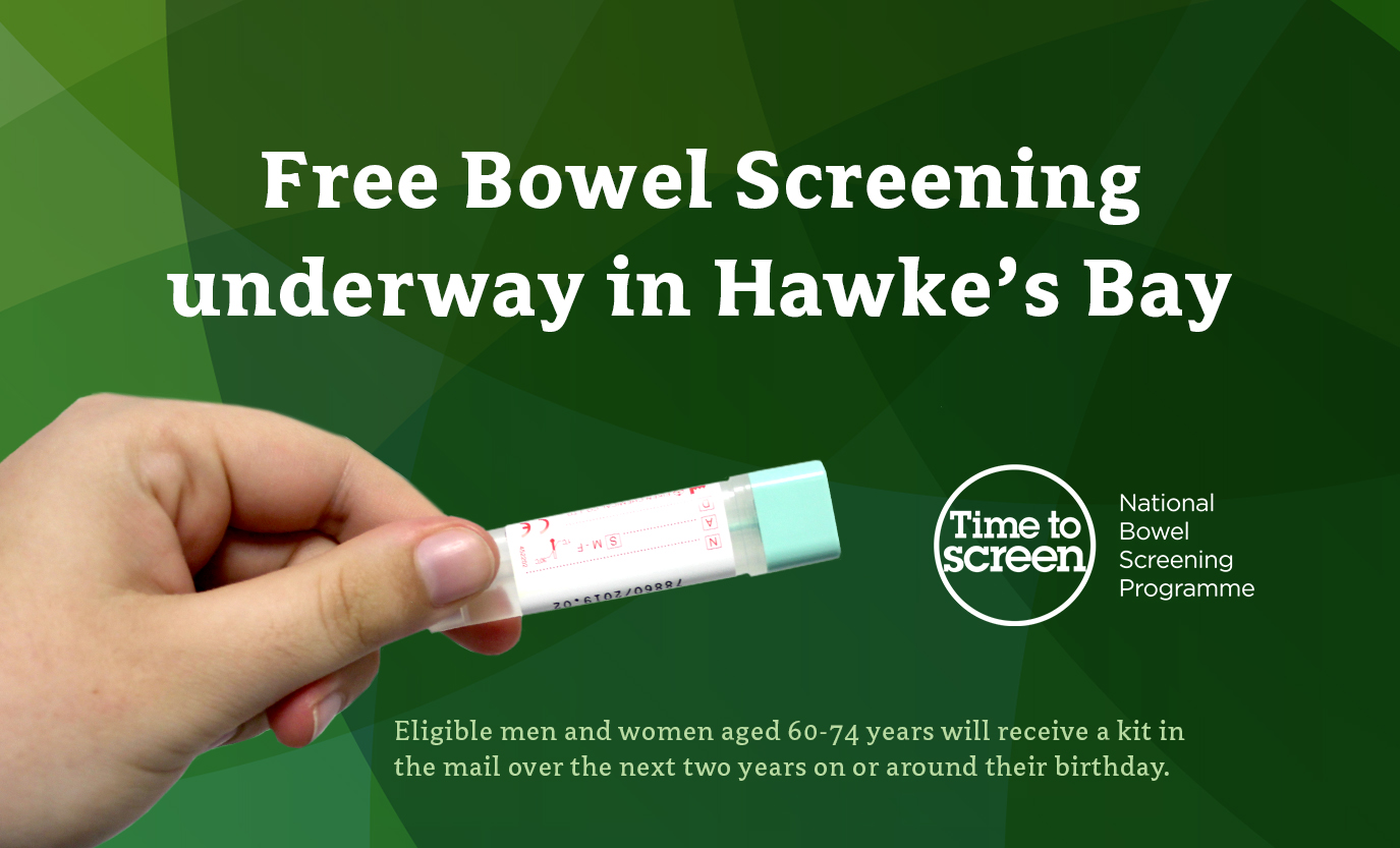 Bowel Screening carousel